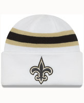 New Era New Orleans Saints On-Field Color Rush Pom Knit