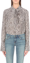 Free People Modern muse woven blouse
