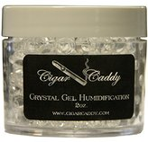 Cigar Caddy Crystal Gel Humidification Jar, 2-Ounce