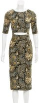 Suno Floral Cutout Dress w/ Tags