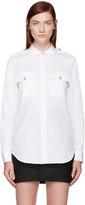 DSQUARED2 White Sergeant Shirt