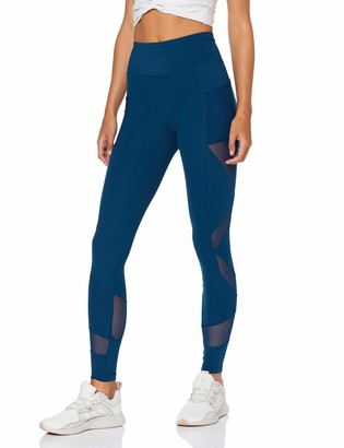 Aurique Amazon Brand Women's Mesh Panel Sports Leggings