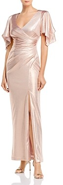 Brinker & Eliza V-Neck Evening Gown