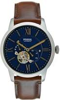 Fossil Townsman Watch Dark Brown