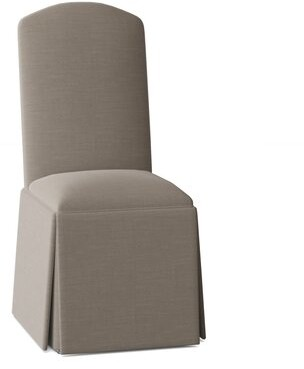 Darby Home Co Lamoille Upholstered Parsons Chair Body Fabric: Angela Pewter