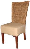 Jeffan Decorative Brown Karyn Mahogany Dining Chair