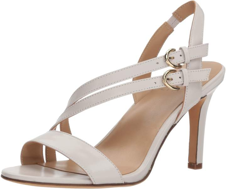 8163b9fe951b Naturalizer White Heeled Sandals For Women - ShopStyle Canada