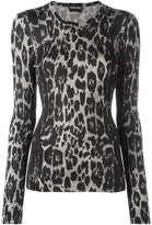 Tom Ford animal pattern jumper - women - Silk - L