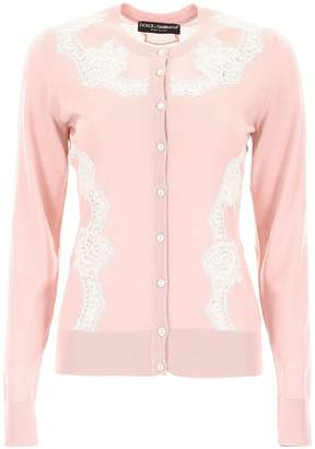 Dolce & Gabbana Embroidered Lace Cardigan