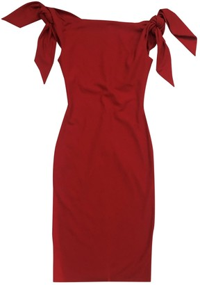Chalayan Red Polyester Dresses
