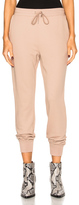 Alexander Wang French Terry Sweatpants in Neutrals.