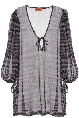 Missoni Mare Zigzag knit dress