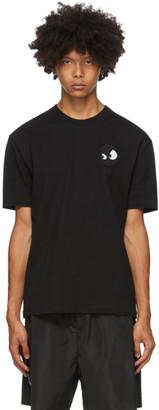 McQ Black Monster Badge T-Shirt