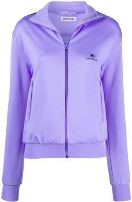 Balenciaga Zip-Up Track Jacket