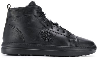 Baldinini Side Logo Hi-Top Sneakers