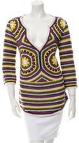 Tory Burch Crochet V-Neck Tunic