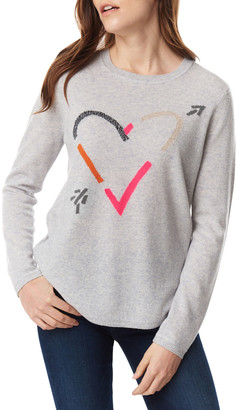 LISA TODD Beau & Arrow Curved-Hem Sweater