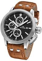 TW Steel 'CEO Adesso' Quartz Stainless Casual Watch, Color:Brown (Model: CE7004)