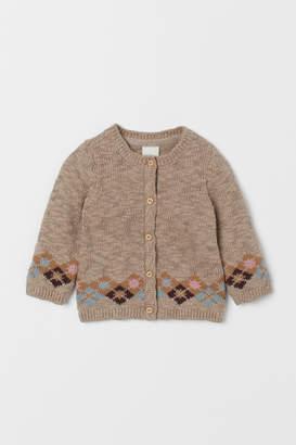H&M Slub-knit Cardigan