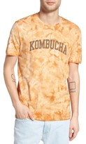 Altru Men's Tie Dye Kombucha Graphic T-Shirt
