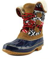 Khombu Womens Jenna Closed Toe Mid-Calf Cold Weather Boots