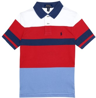Polo Ralph Lauren Kids Striped cotton polo shirt