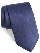 Eton Men's Herringbone Silk Tie