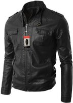 Laverapelle Men's Genuine Lambskin Leather Jacket - 1510562 - Extra Large