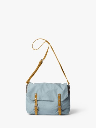 Ally Capellino Jeremy Small Waxed Cotton Satchel Bag