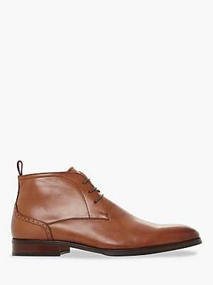 Dune Maidenn Leather Chukka Boots