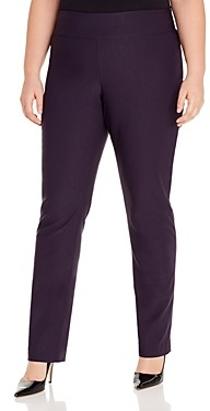 Nic And Zoe Plus Nic+Zoe Plus Wonderstretch Straight-Leg Pants