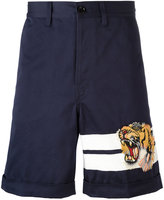 Gucci Bengal tiger bermuda shorts - men - Cotton - 32