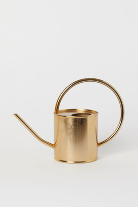 H&M Metal Watering Can - Gold