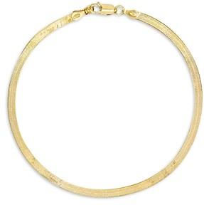 Adina's Jewels Herringbone Chain Ankle Bracelet
