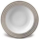"L'OBJET Perlee Platinum 14"" Round Serving Bowl"