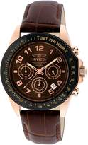 Invicta Men's Speedway Dial Leather Watch 10712