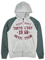 Burton Mens Tokyo Laundry Arapaho Hunter Green Marl Zip-Through Hoodie*