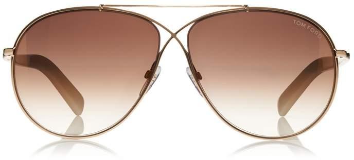 Tom Ford Eva Sunglasses Brown