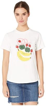 ban.do Cute Fruit Retro Tee (Ivory) Women's T Shirt
