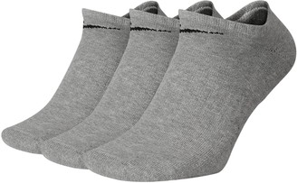 Nike Men's 3-pack Everyday Cushion No-Show Training Socks
