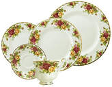 Royal Albert Old Country Roses Bone China 5 Piece Place Setting, Service for 1
