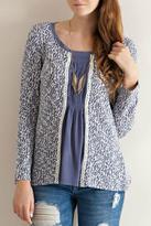 Entro Lace Trim Sweater