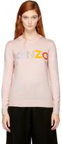 Kenzo - Pull rose Logo