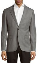 HUGO BOSS Textured Long-Sleeve Jacket