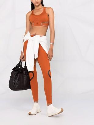 adidas by Stella McCartney Logo-Print Performance Top
