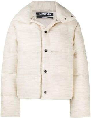 Jacquemus La doudoune oversized puffer jacket.