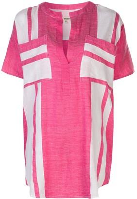 Lemlem Zoya pocket tunic shirt