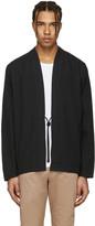 Naked & Famous Denim SSENSE Exclusive Black Triple Wash Kimono Shirt