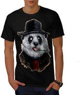 Panda Business Animal Men XXXL T-shirt | Wellcoda