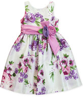 Jayne Copeland Floral Shantung Dress, Toddler and Little Girls (2T-6X)